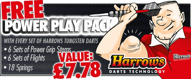 Free Gift Harrows Darts