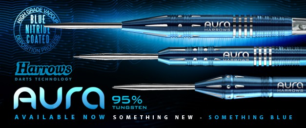Harrows new Aura darts by Pure Darts