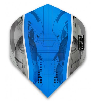 Pentathlon Silver Edge PNT0185 Blue