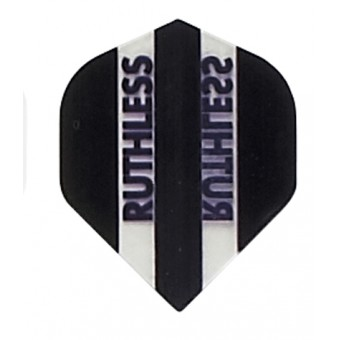 Black Clear Panels Ruthless Darts Flights