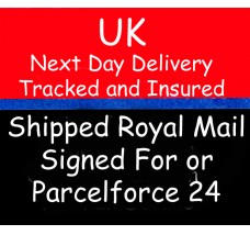 Add Next Day Delivery in the UK with Tracking and Insurance to your order