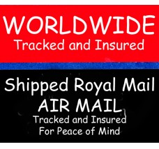 Add Tracking and Insurance to your order for delivery to ALL destinations outside the UK