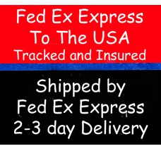 Add Fed Ex shipping to your order for delivery in the USA