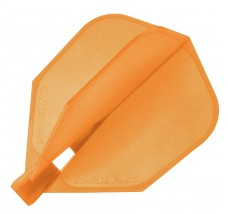 Harrows Clic flight Orange FOR USE WITH CLIC STEMS ONLY