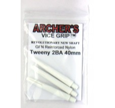 ARCHER'S Vice Grip Nylon Tweeny White 40mm
