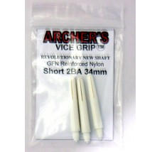 ARCHER'S Vice Grip Nylon Short White 34mm