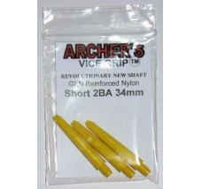 ARCHER'S Vice Grip Nylon Short Yellow 34mm