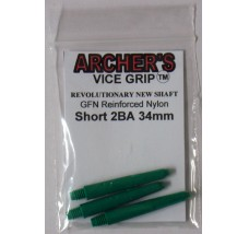 ARCHER'S Vice Grip Nylon Short Green 34mm