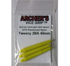 ARCHER'S Vice Grip Nylon Tweeny Yellow 40mm