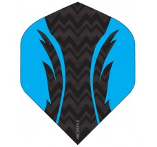 Archers X 100 Micron Pro Flights Black Blue