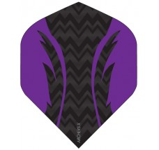 Archers X 100 Micron Pro Flights Black Purple