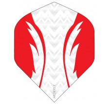 Archers X 100 Micron Pro Flights White Red