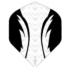 Archers X 100 Micron Pro Flights White Black