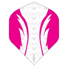 Archers X 100 Micron Pro Flights White Pink