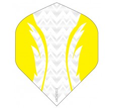 Archers X 100 Micron Pro Flights White Yellow
