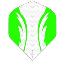 Archers X 100 Micron Pro Flights White Green