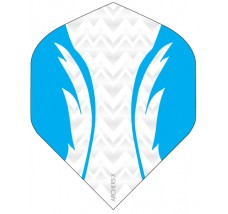 Archers X 100 Micron Pro Flights White Aqua