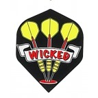 Black Wicked Darts Ruthless