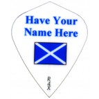 10 Sets White KITE N T1 Scotland Flag