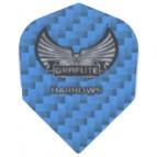 Harrows Graflite Darts Flight STD Blue - Flight