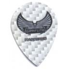 Harrows Graflite Flight PEAR Silver - Flight