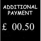 50p Additional Payment