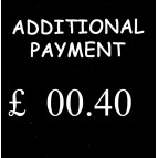 40p Additional Payment