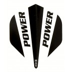 Power Max STD Solid Black/White