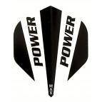 Power Max STD Solid Black/White - Flight
