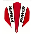 Power Max STD Solid Red/White