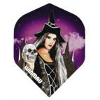 Win-6900-101 Mega Std Witch and Skull - Flight
