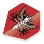 Unic68319 Winged Skull Standard
