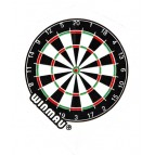 Win-6900-145 Mega Std White Dartboard - Flight
