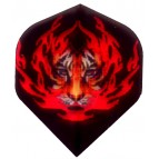 HiVis-oo9 Hell Cat Black-STD Ruthless Darts Flight - Flight