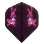 HiVis-o11 Pink Bunnys Black-STD - Flight