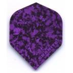 Rock Hard Granite 006 Purple Std Ruthless 100micron Darts Flight - Dart