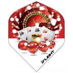 Ruthless Invincible INV-008   Casino Darts Flight - Flight