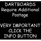 AAA Important Information on Shipping Dartboards and Postage Costs. - Accessory