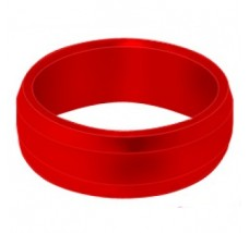 Target Slot Lock Rings Red 108130