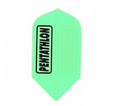 100 sets Fluro Green Slim Pentathlon LOOSE 2208