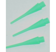 Alchemist OTAKU 26mm 2BA Soft Tips Green 100 Spare Tips