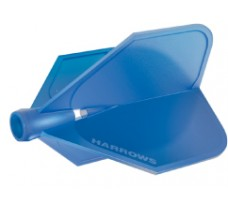 Harrows Clic flight Blue FOR USE WITH CLIC STEMS ONLY