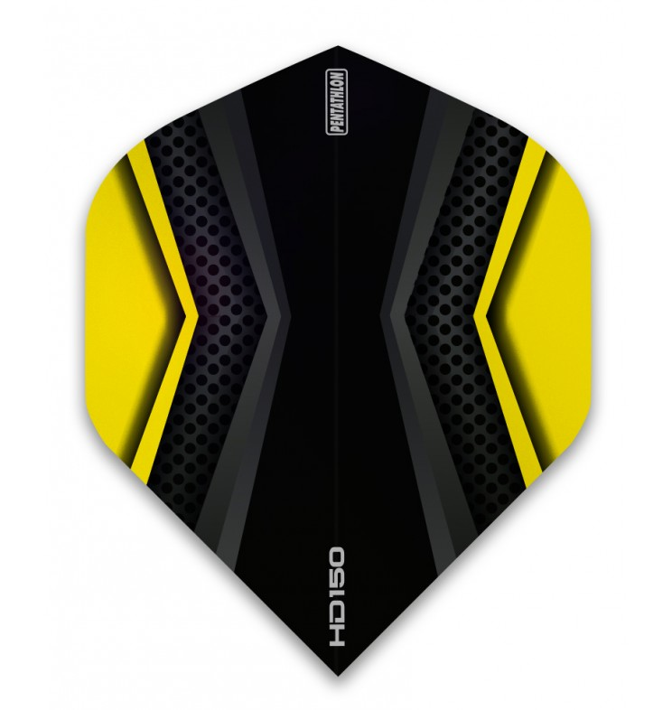 5 New Sets Pentathlon Lux 100 Micron Slim Dart Flights Aqua
